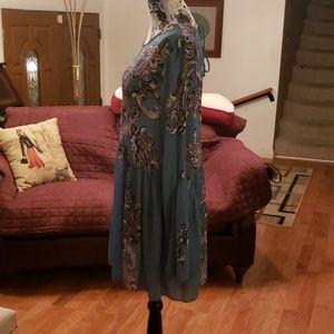 Free People Dresses - Free People sheer dress